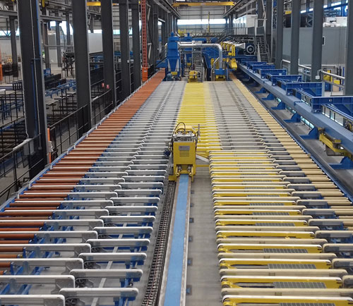 Presezzi Extrusion Group - Profile Automation